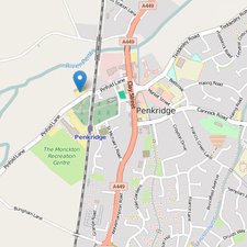 Penkridge Medical Practice location on Open Street Map