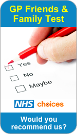 Would you recommend Penkridge Medical Practice to Friends and Family?